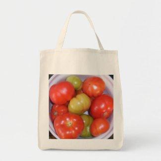 Ripening Tomatoes Tote Bag bag