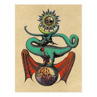 Ripley Scroll Postcard