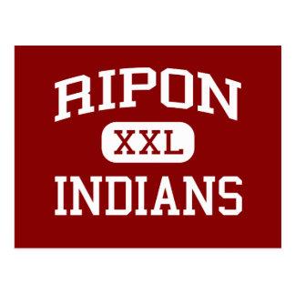 Ripon - indios - High School secundaria - Ripon Tarjeta Postal