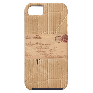 Ripped Cardboard Wrapper iPhone 5 Covers