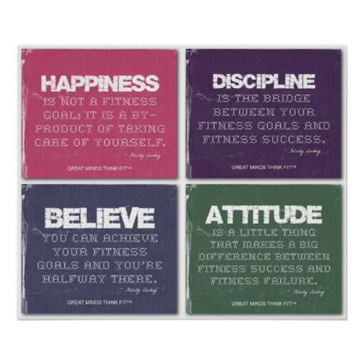 Ripped for Fitness Success Print