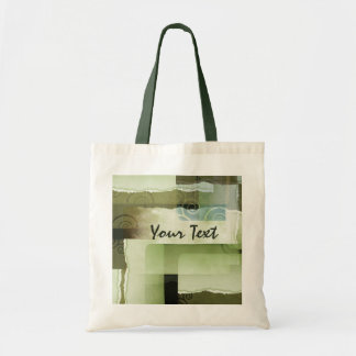 Ripped Green Texture Canvas Bags