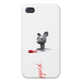 """""""Ripped..."""" iPhone 4 Case"""