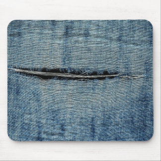Ripped Jeans Mouse Pad