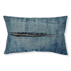 Ripped Jeans Pet Bed