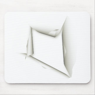 Ripped Paper Mousepad