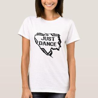 Ripped Star - Just Dance- Black T-Shirt