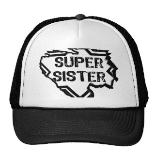 Ripped Star- Super Sister - Black Hats