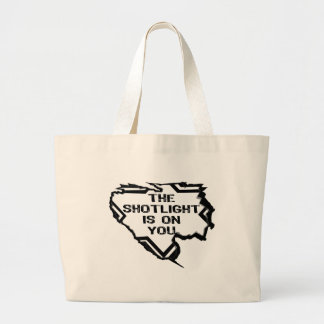 Ripped Star - You Are In The Spotlight- Black Tote Bags