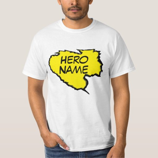 Ripped Template -(Add Own Text)Yellow T-Shirt