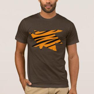 Ripped Tiger Print T-Shirt