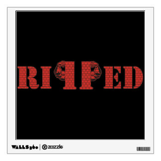 RIPPED Wall Sticker