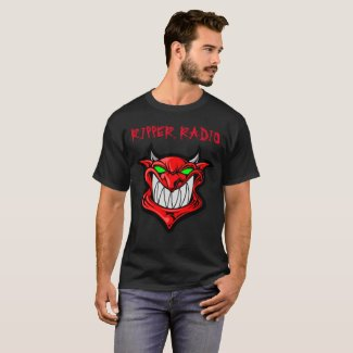 RIPPER RADIO DEVIL 2 SIDED T-Shirt