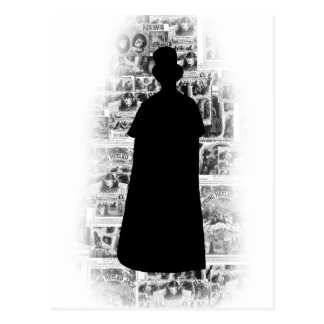 Ripper Silhouette.png Postcard