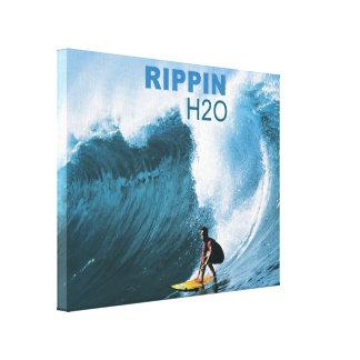 RIPPIN H2O Art Canvas Print