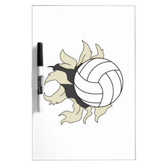 RIPPING VOLLEYBALL Dry-Erase BOARD