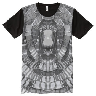 Ripple All-Over Print T-shirt