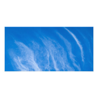 Ripple Clouds Photo Cards