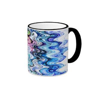 Ripple Effect Coffee Mugs