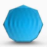 """Ripple Illusion Award<br><div class=""""desc"""">Graphic art at its best. Beautiful shades of aqua from a design that simulates water ripples,  but with a graphic twist.</div>"""