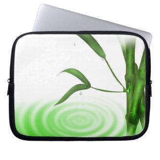 Ripple in Water Bamboo/Laptop Electronics Bag