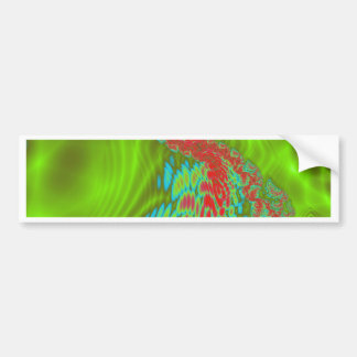 Ripple Wave Bumper Sticker