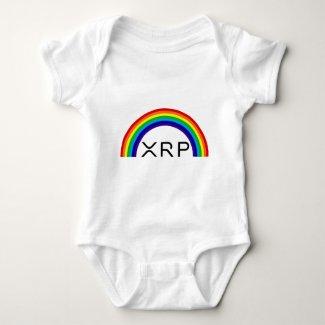 Ripple XRP rainbow baby grow Baby Bodysuit