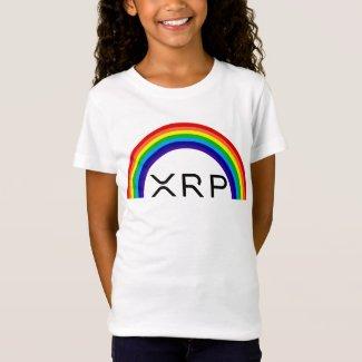 Ripple XRP rainbow kids t-shirt