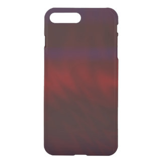 Rippled Dark Red Abstract iPhone 8 Plus/7 Plus Case