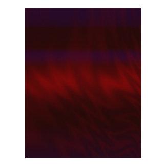 Rippled Dark Red Abstract Letterhead
