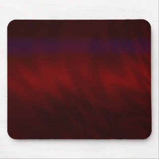 Rippled Dark Red Abstract Mouse Pad