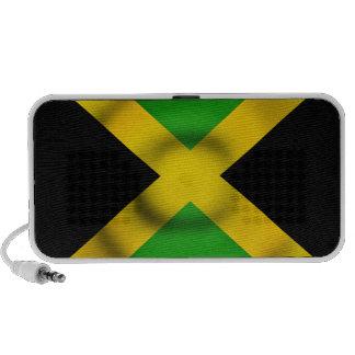 Rippled Jamaica Flag Doodle Speaker