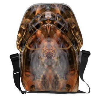 Rippled Portal Messenger Bag