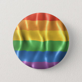 Rippled Pride Flag Button