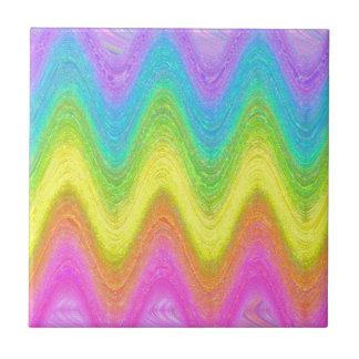 """""""Rippled Rainbow"""" (Reversed) Tiles"""