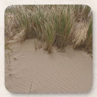 Rippled Sand and Seagrass Beverage Coasters