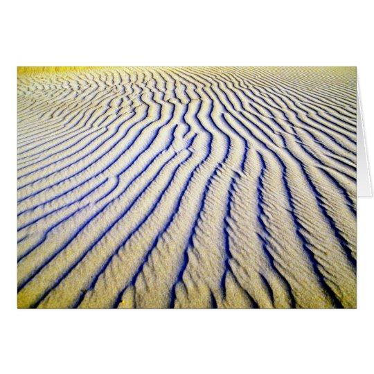 Rippled Sand Card