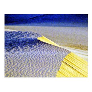 Rippled Sand Dunes Post Card