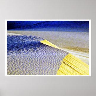 Rippled Sand Dunes Print