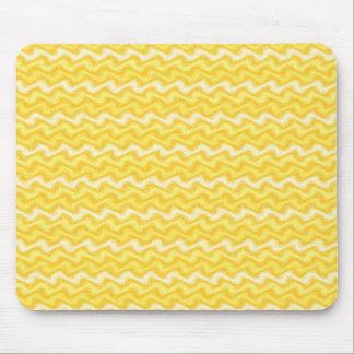 Rippled Yellow Mousepad