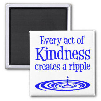 RIPPLES 2 INCH SQUARE MAGNET