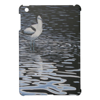 Ripples and a Avocet in contrast iPad Mini Covers