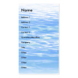 Ripples   business card template