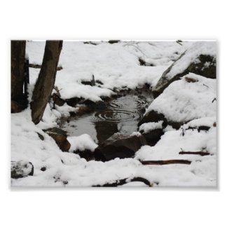 Ripples Chill 7x5 Photographic Print