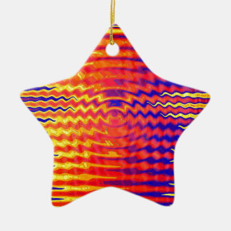Ripples in a dream ceramic ornament