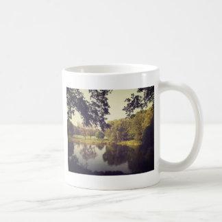Ripples in a Pond, Central Park, New York City Coffee Mug