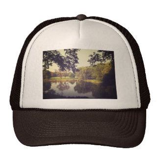 Ripples in a Pond, Central Park, New York City Trucker Hat