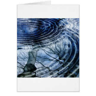 Ripples in Blue Card
