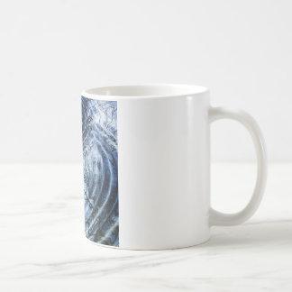 Ripples in Blue Coffee Mug