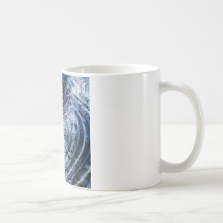 Ripples in Blue Coffee Mugs